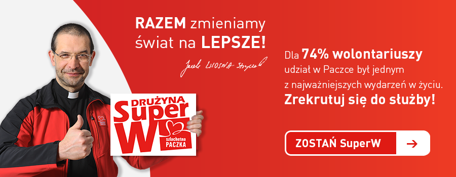 Szlachetna Paczka - zostań wolontariuszem